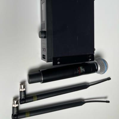 Shure ULXD4-G50 Band With ULXD2 Beta58 Black