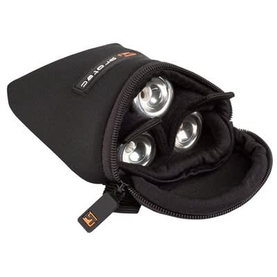 Protec Trumpet 3 Piece Neoprene Mouthpiece Pouch Black