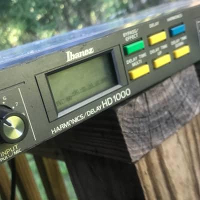 Ibanez HD1000 Harmonics/Delay  1980's