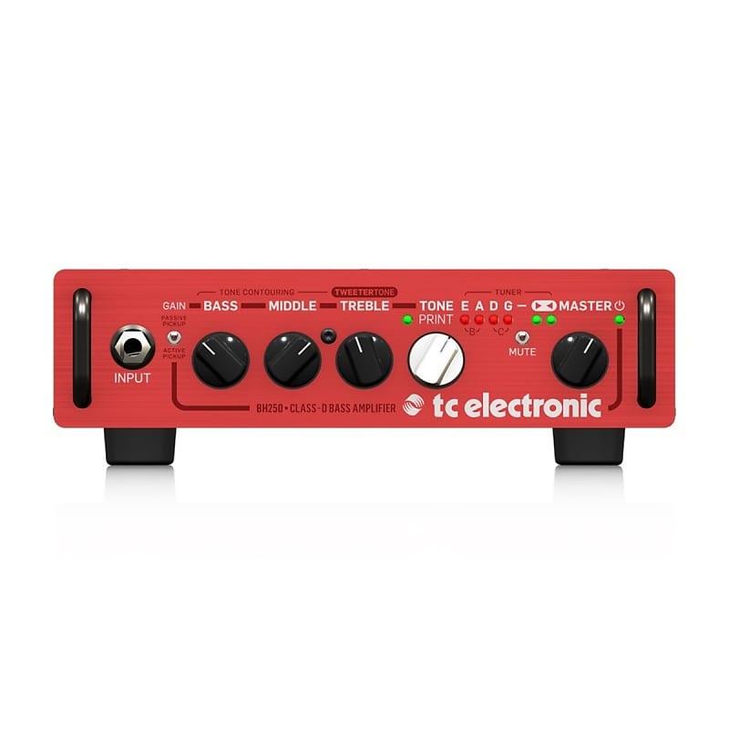 TC Electronic BH250 250W Micro Bass Head w/ TonePrint Effects & Integrated Tuner