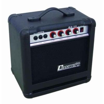 Dimavery BA-15 bass guitar combo black 15W for sale