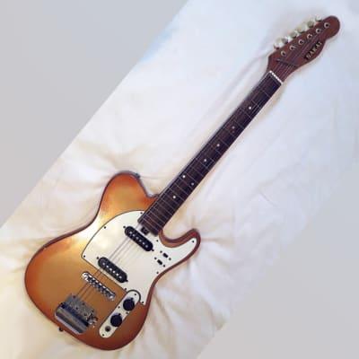 Sakai Miami Telecaster style Guitar and hard case - Similar to Teisco, Jedson etc. for sale
