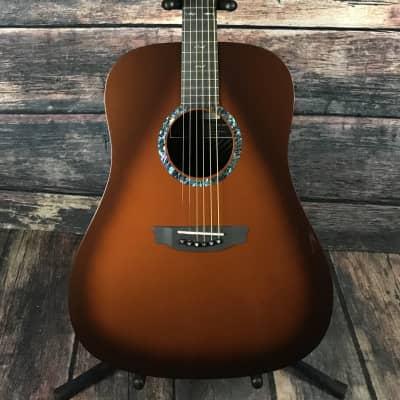 Rainsong Left Handed DR1000N2T Acoustic Electric Dreadnought Guitar-Tobacco Burst for sale
