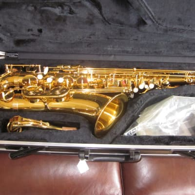 Ravel by Gemeinhardt RGT202 Tenor Saxophone Gold Lacquer #20266