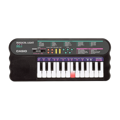 Casio ML-1 24-Key Magical Light Keyboard