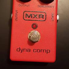 MXR Dyna Comp Block Logo 2014