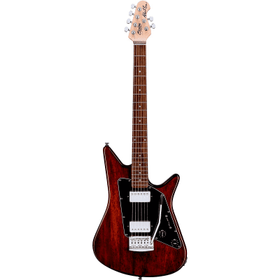 Sterling Sterling by Music Man Albert Lee HH Electric Guitar 2019 Trans Walnut for sale