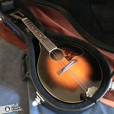 Kalamazoo KM-11 Flat Top Mandolin Sunburst Vintage 1930s w/ Case for sale