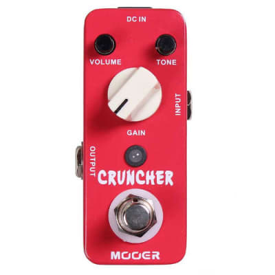 Mooer Cruncher MICRO Crunch Distortion Pedal Free Shipping