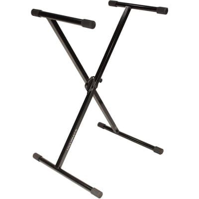 Ultimate IQ-1000 Single-Braced X-Style Keyboard Stand