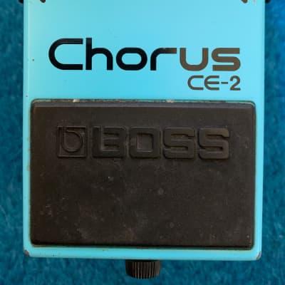 Boss CE-2 Chorus (Black Label) 1979 - 1987 Blue