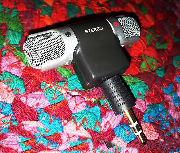 Ecm Ds70p Stereo Condenser Microphone Clone New Reverb