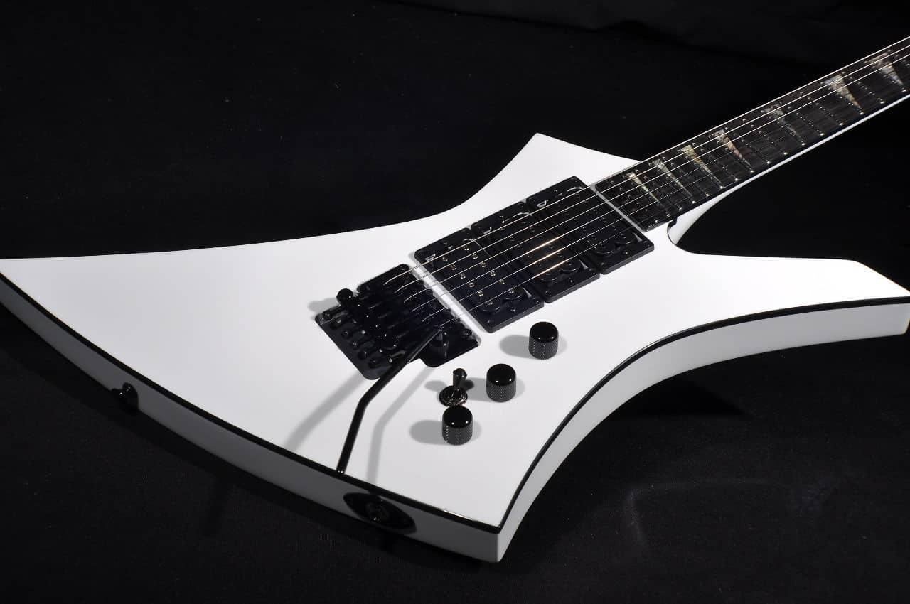 Jackson USA Custom Shop KE3H 3-Pickup Guitar Snow White | Reverb