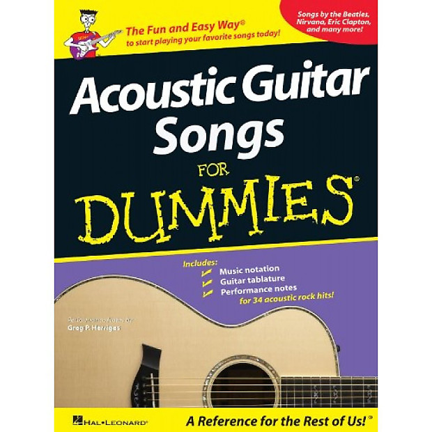 acoustic guitar for dummies pdf