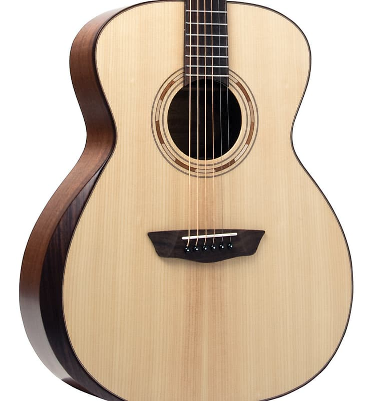 Washburn Comfort G10SE Solid Sitka Top Grand Auditorium Acoustic Electric Natural