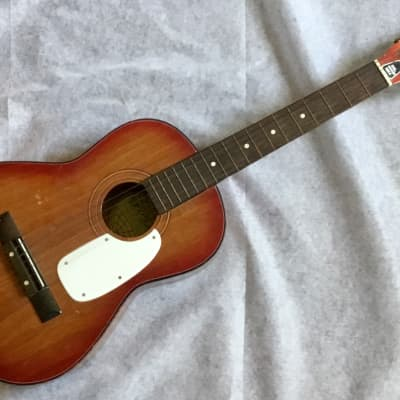 """GLOBAL 4001 Vintage Acoustic Classical Parlor 36"""" Guitar Korea Made Good Condition for sale"""
