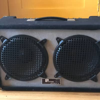Relisted - Polytone Mini Brute V 1970s Black - RARE 2x10 - spring reverb and overdrive. for sale