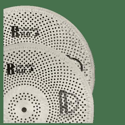 "Agean Cymbals 13"" Flat R X-tra Silent Low Noise(Low Volume) Hi-hat"