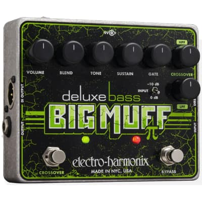 Electro-Harmonix Deluxe Bass Big Muff Pi Bass Fuzz Distortion Effects Pedal