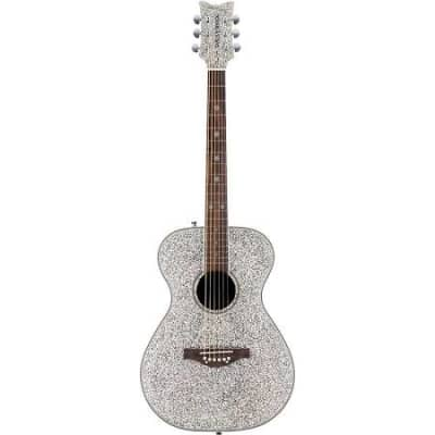 Daisy Rock DR6206 Silver Sparkle Acoustic/Electric Guitar for sale