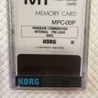 Korg M1 MEMORY CARD MPC-00P FACTORY PRESET