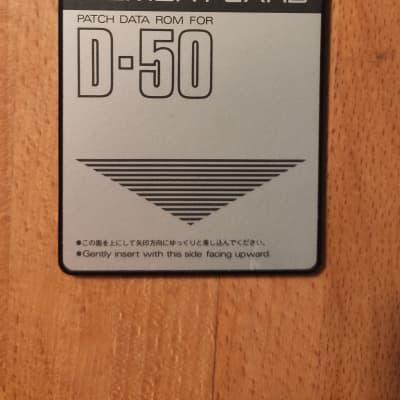 Roland D-50 / D-550 ROM-Card PN-D50-00 - factory presets