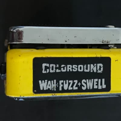 Colorsound Supa Wah-Fuzz-Swell 1972 (Refubished)