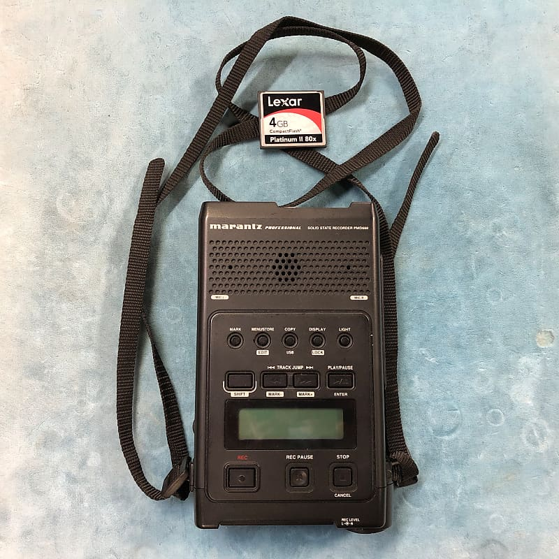 Marantz PMD660 Solid State Portable Recorder w/ CF Card