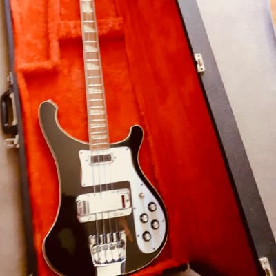 Rickenbacker 4001 stereo 1973 Jet-Glo with Case, Free World Wide Shipping for sale