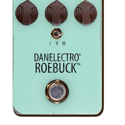 Danelectro Guitar Effect Roebuck Distortion True Bypass Soft Switch