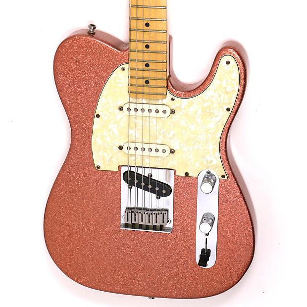 1996 Fender Custom Shop Nashville Telecaster Champagne Sparkle