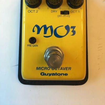 Guyatone MO-3 Micro Analog Octaver Rare Guitar Bass Effect Pedal MIJ Japan for sale