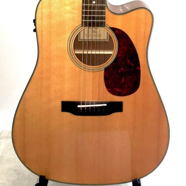 Sigma SD18CE cutaway dreadnaught acoustic electric guitar image