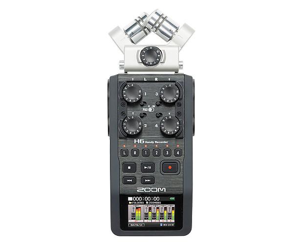 zoom h6 handy recorder used proaudiostar reverb. Black Bedroom Furniture Sets. Home Design Ideas