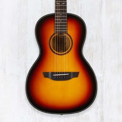 Orangewood Florence 3-Tone Sunburst Solid Top Spruce Parlor Acoustic Guitar for sale