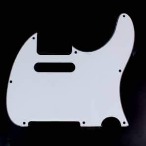 Replacement Guitar Pickguard For G&L ASAT Classic USA ,3ply white
