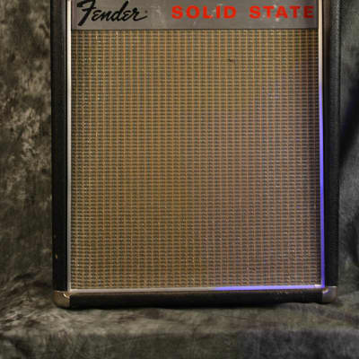 Fender Deluxe Reverb 1960s Rare SOLID STATE Combo w FAST Same Day Shipping