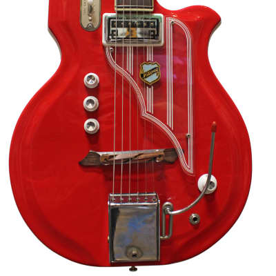 National Newport 82 (Westwood / Map) Reso Glass Vintage Guitars w/ OHSC 1964