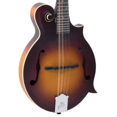 Loar LM-590E-MS Contemporary Mandolin F-Style All Solid Hand Carved w/Fishman Nashville Pickups