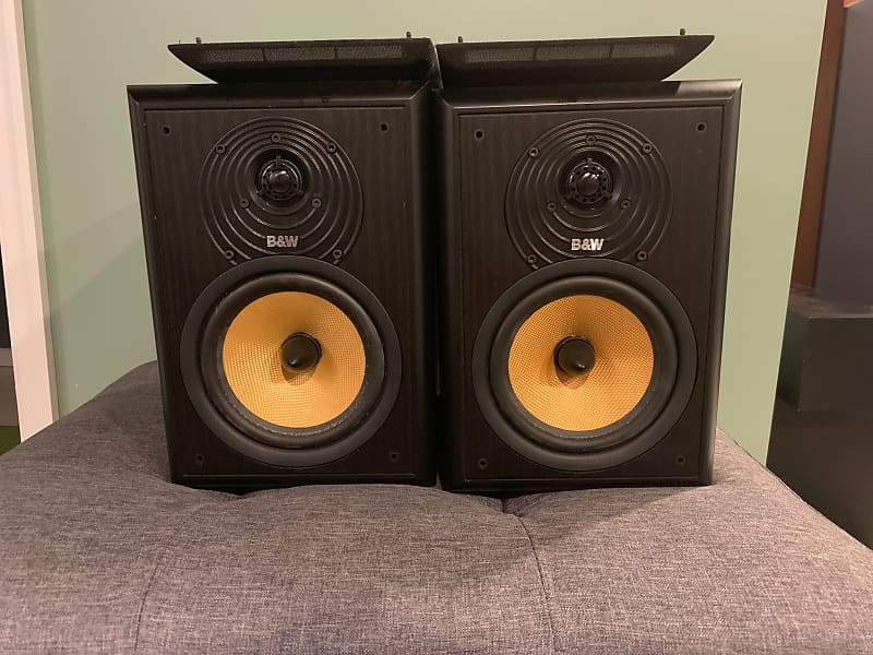 Bowers And Wilkins B W Cdm 2 Special Edition Se Bookshelf Speakers