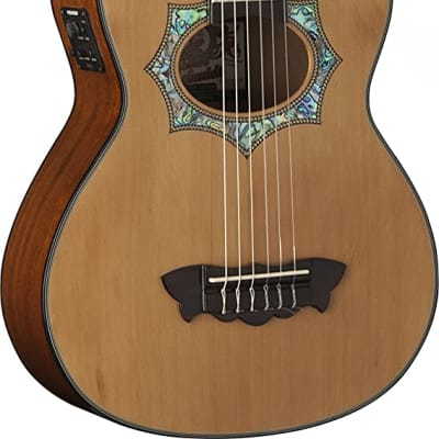 Oscar Schmidt OH30SCE-O-U Acoustic Electric Requinto Guitar,Natural for sale