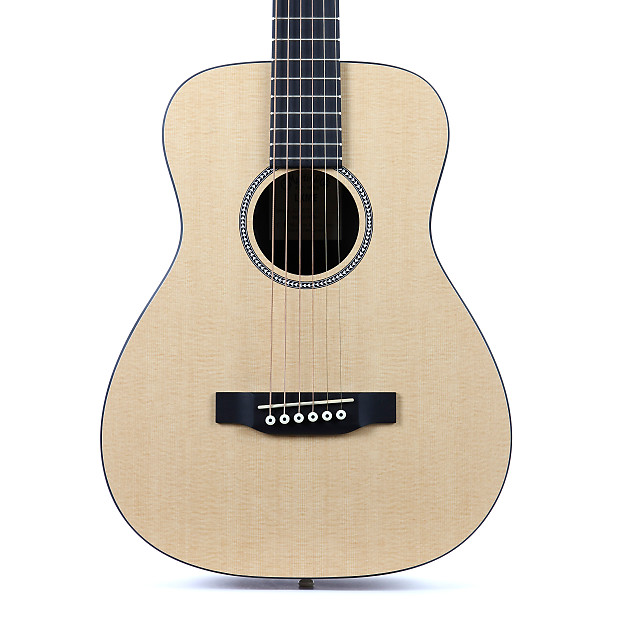 brand new martin lxme acoustic electric travel guitar natural reverb. Black Bedroom Furniture Sets. Home Design Ideas