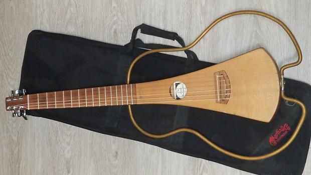 martin nylon backpacker guitar 2000s natural reverb. Black Bedroom Furniture Sets. Home Design Ideas