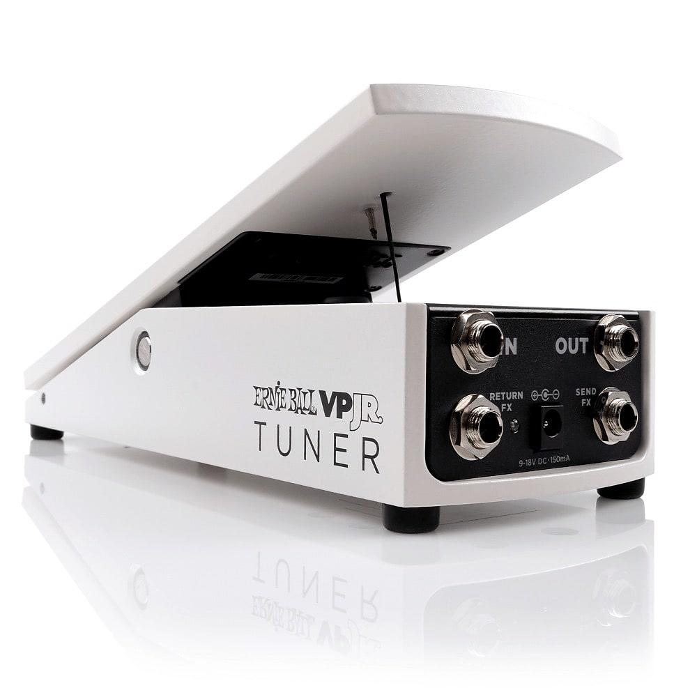 Ernie Ball VPJR Tuner / Volume Pedal White