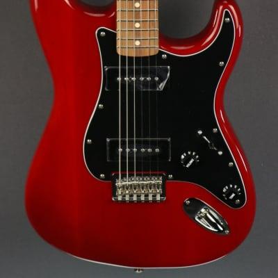DEMO Fender Noventa Stratocaster - Crimson Red Transparent (937)