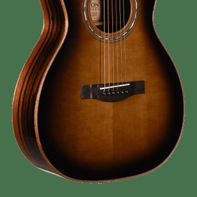 Teton STP180DVB Spruce/Ebony Parlor Dark Vintage Sunburst
