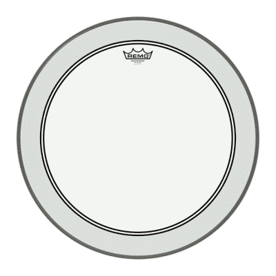 Remo Powerstroke 3 Clear Bass Drumhead, P3-1324-C2, 24 Inch