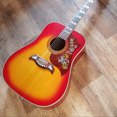 Columbus Hummingbird 1960/70 Vintage Cherry Sunburst for sale