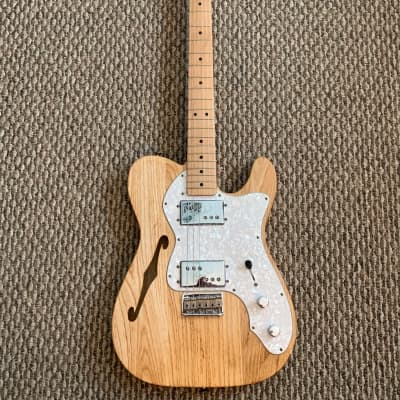Fender Classic Series '72 Telecaster Thinline 2007 Natural Ash for sale