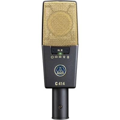 AKG C414 XLII Large Diaphragm Multipattern Condenser Microphone